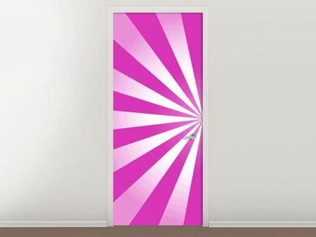 Door Mural Abstract Lollipop