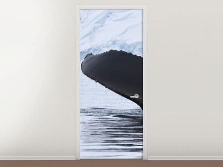 Door Mural The Humpback Whale