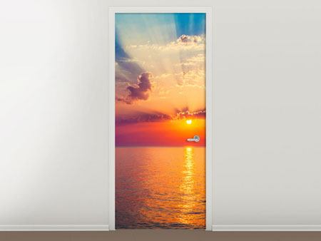 Door Mural Mystic Sunrise