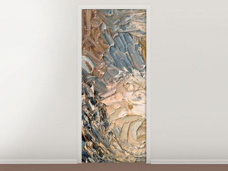 Door Mural Oil Painting