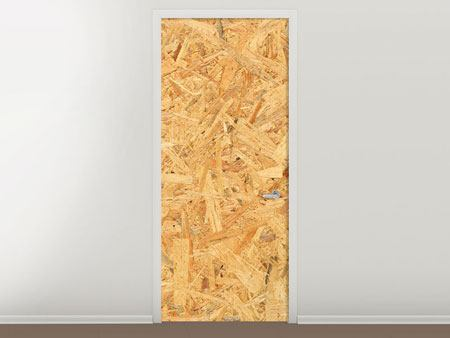 Door Mural Pressed Wood