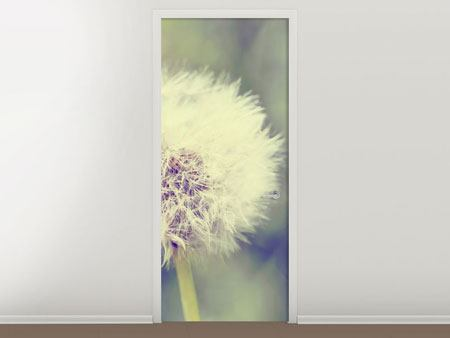 Door Mural The Dandelion