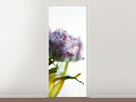 Door Mural Tulip Bouquet