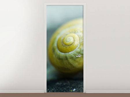 Door Mural The Snail