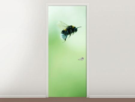 Door Mural The Bee