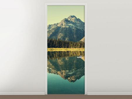 Door Mural The Lake