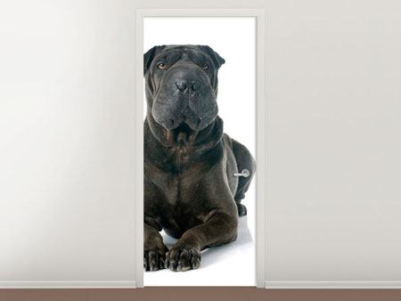Door Mural The Mastiff