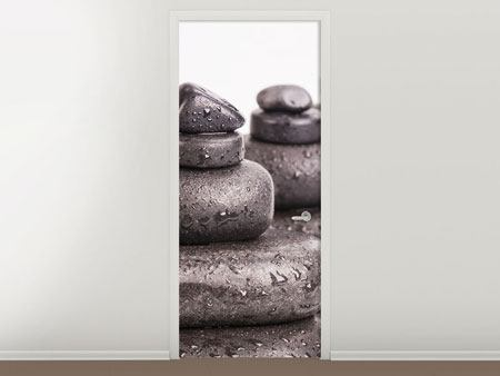 Door Mural The Power Of Stones