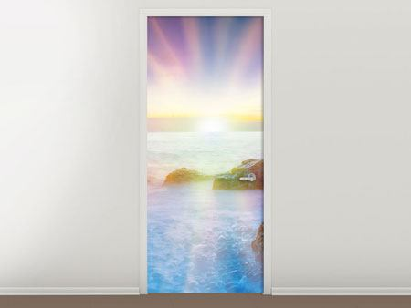 Door Mural Photo Wallaper Mystic Sea