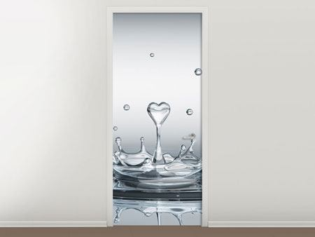Door Mural Water Figure