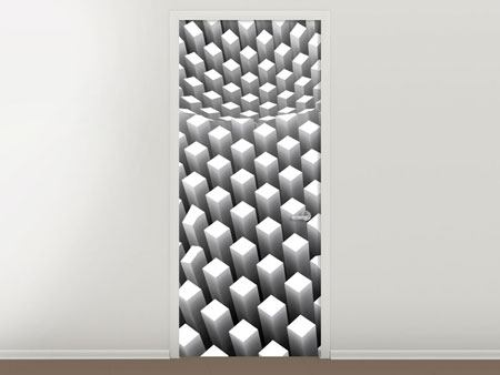 Door Mural 3D Raster Design