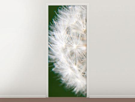 Door Mural Giant Dandelion