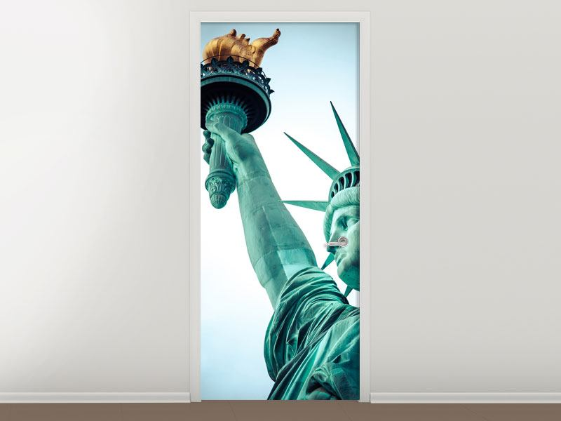 Door Mural Lady Liberty