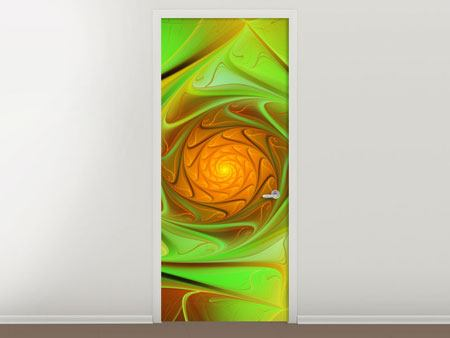 Door Mural Abstractions