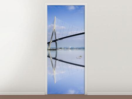 Door Mural The Pont de Normandie