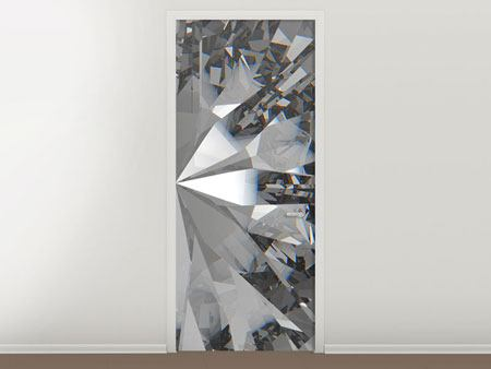 Door Mural Giant Diamond
