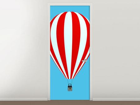Door Mural Ballon Ride
