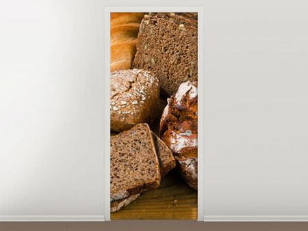 Door Mural Bread Types