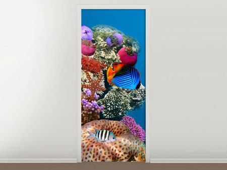 Door Mural Fish In the Water