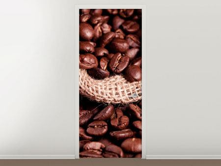 Door Mural XXL Coffee Beans