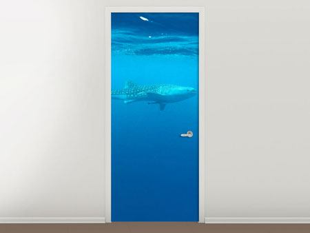Door Mural The Whale Shark