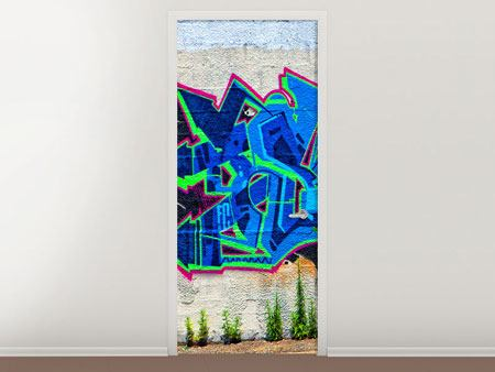 Door Mural Graffiti NYC