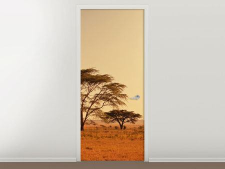 Door Mural Pastures In Kenya