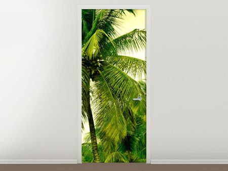 Door Mural Mural Ready for a vacation