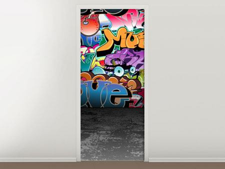 Door Mural Graffiti Writing