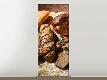 Door Mural Breakfast Breads