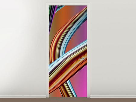 Door Mural Wave Equation