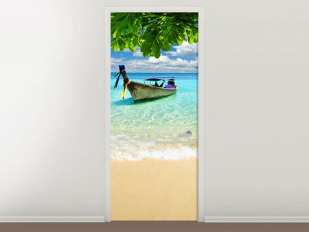 Door Mural A View Of The Sea