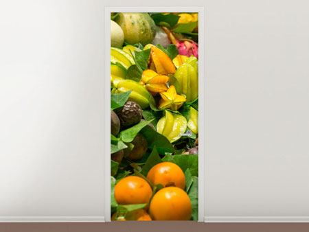 Door Mural Fruits