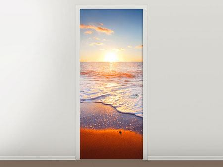 Door Mural Sunset On The Horizon