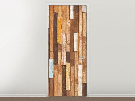 Door Mural Design Wood