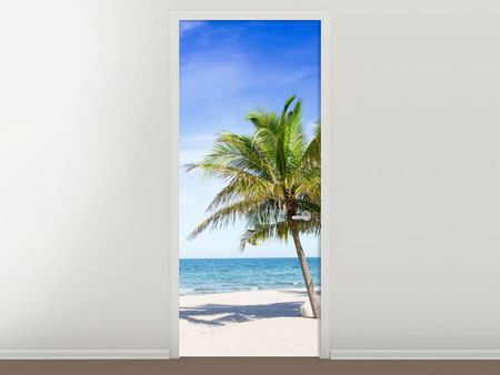 Door Mural Thailand Dream Beach