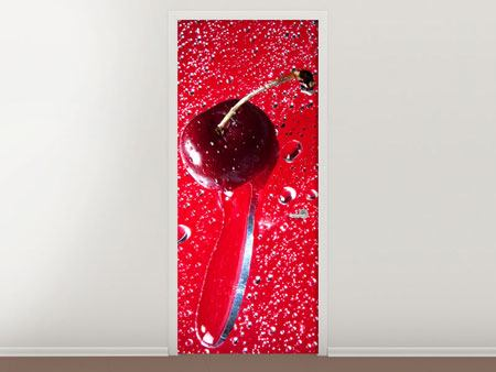 Door Mural Photo Waallpaper The Cherry