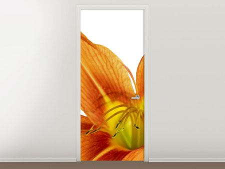 Door Mural The Tiger Lily