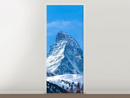 Door Mural The Majestic Matterhorn