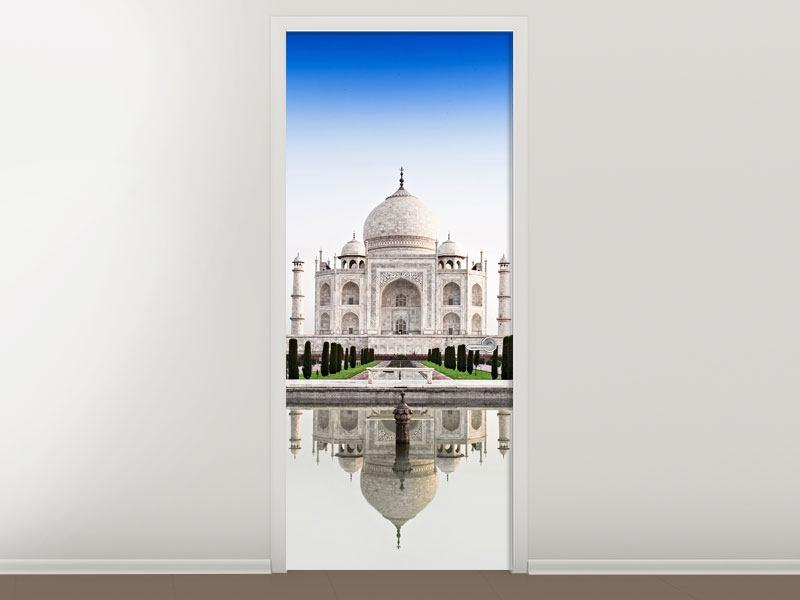 Türtapete Taj Mahal - Jetzt einfach online günstig bestellen!