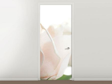Door Mural Gorgeous Roses