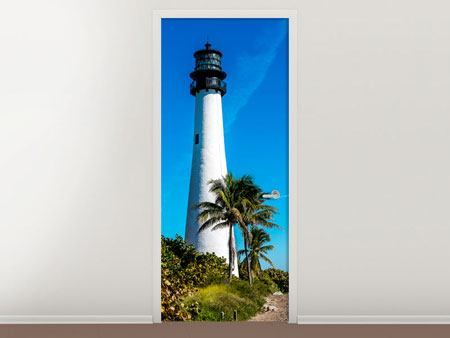 Door Mural Lighthouse
