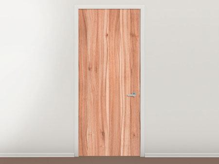 Door Mural Wood Design