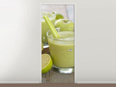Door Mural Smoothie