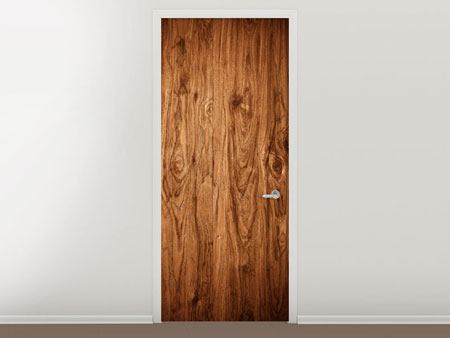 Door Mural Walnut