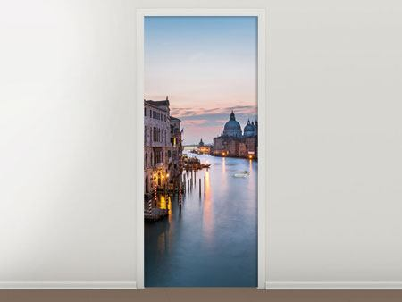 Door Mural Romantic Venice