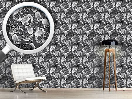 Design Wallpaper Dolores Darkgrey