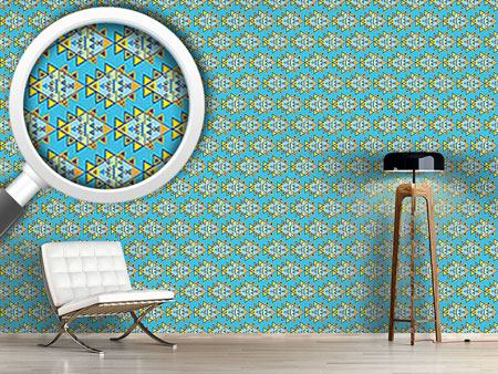 Design Wallpaper Modern Aztec