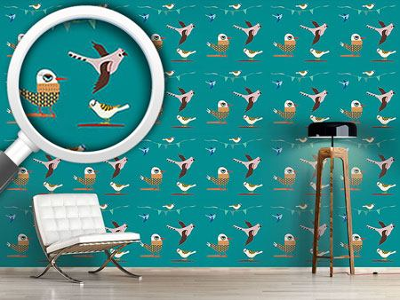 Design Wallpaper Bird Story