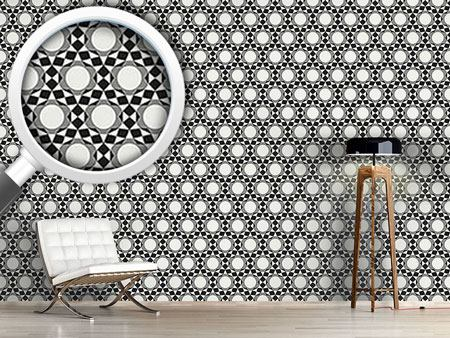 Design Wallpaper Circles become Stars